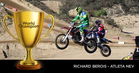 World Champion Richard Berois